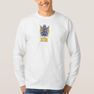 Coat of Arms with Sigma R under Long Sleeve Tshirts