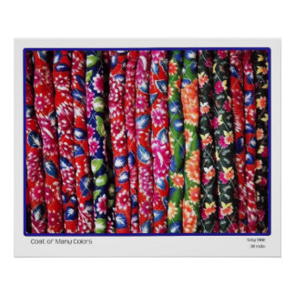 Coat Of Many Colors Poster