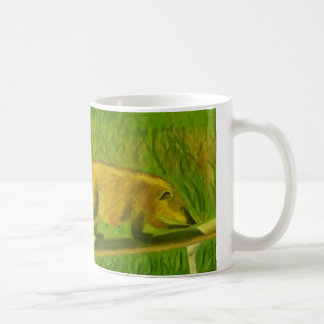 Coati mug (for right-handed users)