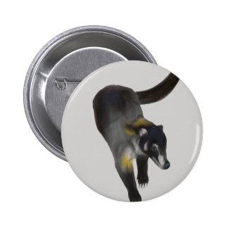 Coati Pin Redondo De 2 Pulgadas