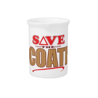 Coati Save Beverage Pitcher