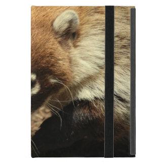 Coati sospechado blanco iPad mini fundas