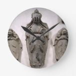 Coats of Arms from the Vecchietti Family (stone) Round Clock