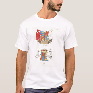 Coats of Arms of Henry VII  and Elizabeth of York T-Shirt
