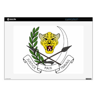 """Coats_of_arms_of_Zaire_(1971-1997) Skins For 15"""" Laptops"""