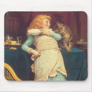 Coaxing Better Than Teasing Charles Burton Barber Mouse Pad