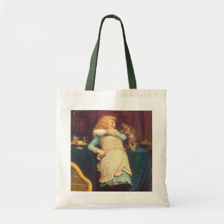 Coaxing Better Than Teasing Charles Burton Barber Tote Bag