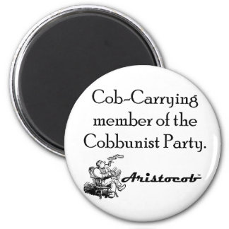 Cob-Carrying Member of the Cobbunist Party Magnet