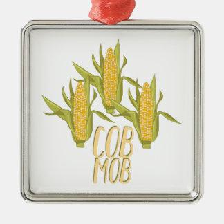 Cob Mob Metal Ornament