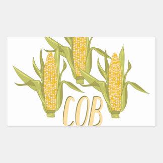 Cob Mob Rectangular Sticker