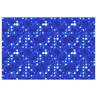 "Cobalt Blue Bokeh Constellations 20"" X 30"" Tissue Paper"
