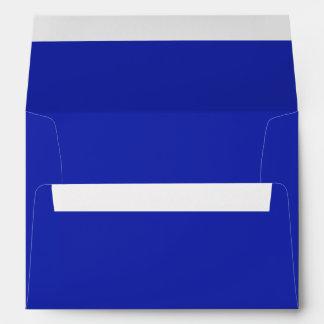 Cobalt Blue Colored Envelopes