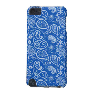 Cobalt Blue Paisley; Floral iPod Touch (5th Generation) Covers