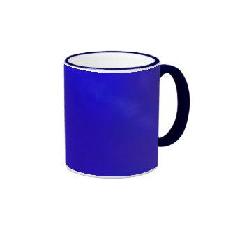 Cobalt Blue Ringer Coffee Mug