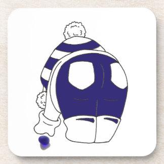 Cobalt Blue Seaglass Coaster