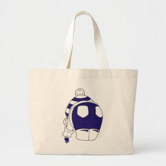 Cobalt Blue Seaglass Large Tote Bag