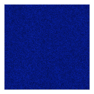 Cobalt Blue Sparkling Glitter Gift Wrapping Paper Poster