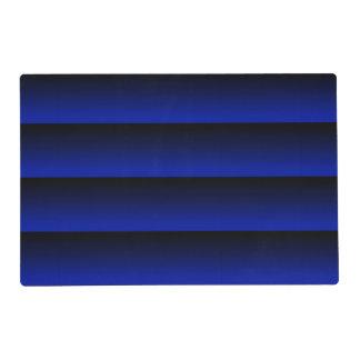 Cobalt Blue Stripe Placemat