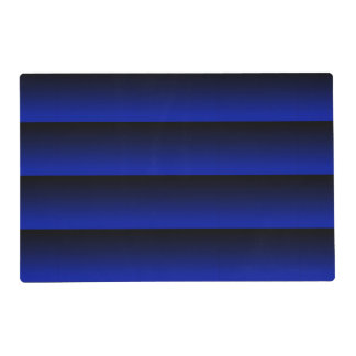 Cobalt Blue Stripe Placemat