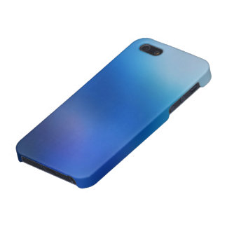 Cobalt Blue Violet Ombre Abstract iPhone 5 Case
