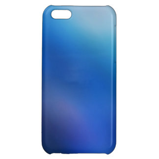 Cobalt Blue Violet Purple Ombre Abstract Art iPhone 5C Cover