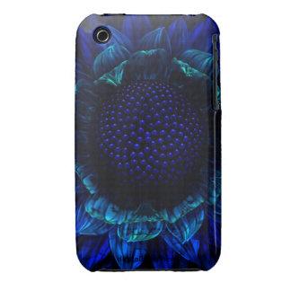 Cobalt Daisy Case-Mate iPhone 3 Cases