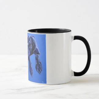 Cobalt Daydream - Lurcher mug