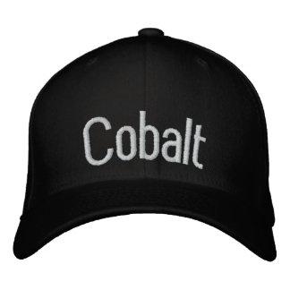 Cobalt Embroidered Hat