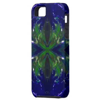 """""""Cobalt Inferno"""" iPhone 5 Covers"""