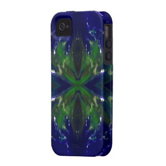 """""""Cobalt Inferno"""" Vibe iPhone 4 Covers"""