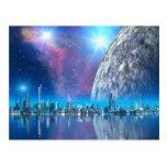 Cobalt Island Cities of the Future Postcard