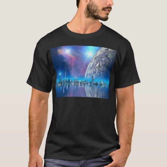Cobalt Island Cities of the Future T-Shirt