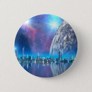 Cobalt Islands Cities of the Future Button / Badge