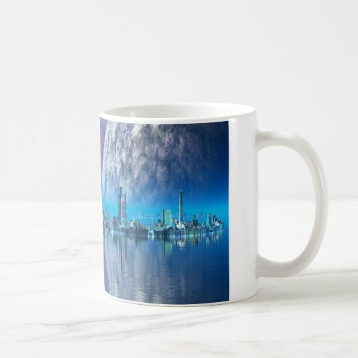 Cobalt Islands Cities of the Future Mug