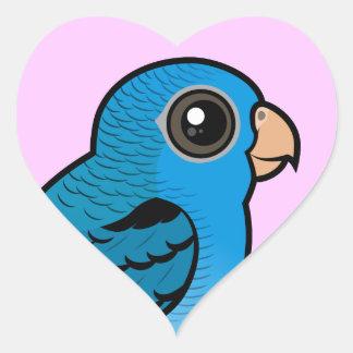 Cobalt Linnie Heart Sticker