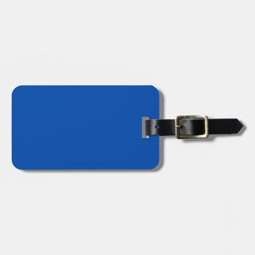 Cobalt Luggage Tags
