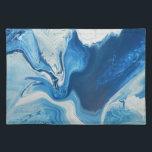 "Cobalt Placemat<br><div class=""desc"">Abstract oil painting</div>"