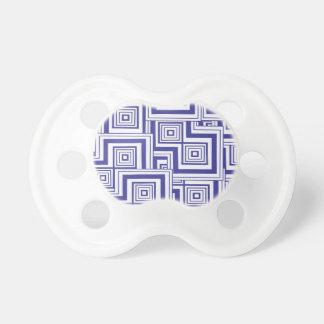 Cobalt Puzzle BooginHead Pacifier