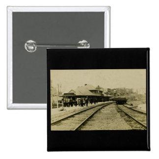 Cobalt Rail Station, Cobalt, Ontario Pins