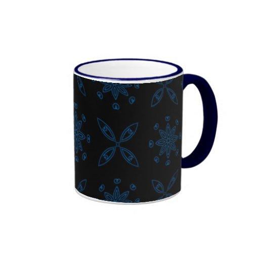Cobalt Snow Mug