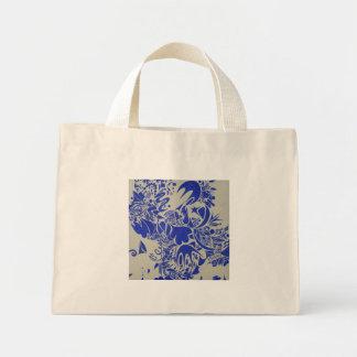 Cobalt Swirl Mini Tote Bag