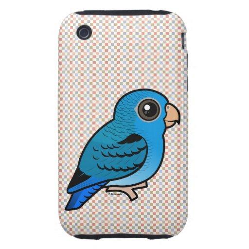 Cobalto Linnie iPhone 3 Tough Funda