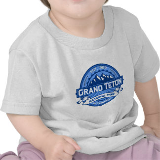 Cobalto magnífico de Teton Camisetas