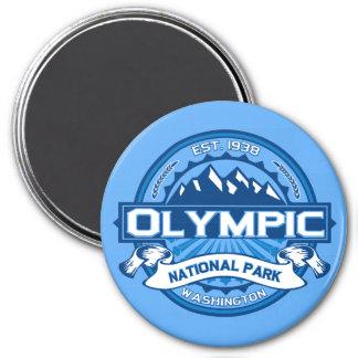Cobalto olímpico imán redondo 7 cm