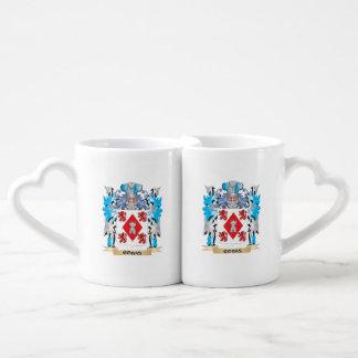 Cobas Coat of Arms - Family Crest Couples' Coffee Mug Set