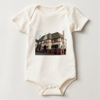 Cobb Arms, Lyme Regis, England, United Kingdom Baby Bodysuit