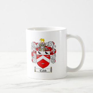 COBB FAMILY CREST -  COBB COAT OF ARMS COFFEE MUG