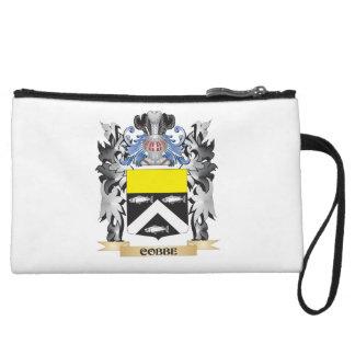 Cobbe Coat of Arms - Family Crest Wristlet Purses
