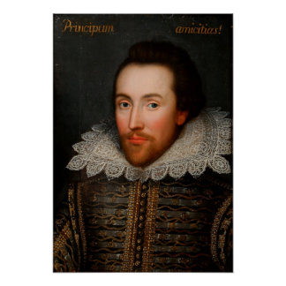 Cobbe Portrait William Shakespeare Poster