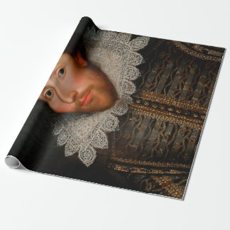 Cobbe Portrait William Shakespeare Wrapping Paper